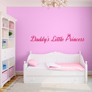 Daddy's Little Princess Wall Decal Quote, Go To www.likegossip.com to ...