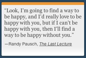 The Last Lecture ~ Author Randy Pausch