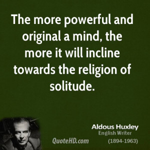 Aldous Huxley Religion Quotes