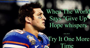 Displaying (19) Gallery Images For Tim Tebow Quotes About Faith...