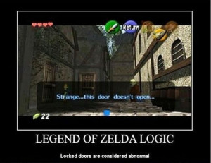 Funny Logic of Video Games (15 pics)