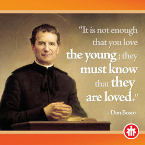 It is not enough that you love the young; they must know that they ...