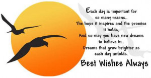 Best Wishes Always! Graphic for Orkut