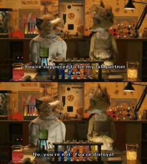 Fantastic Mr Fox Ash Quotes