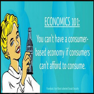 Just trying to explain demand-side economics - and since the U.S. has ...