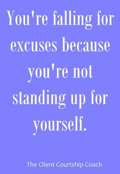 ... because you're not standing up for yourself. #CoachFreedom #quotes
