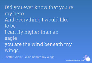 You Are my Hero Quotes Know That You 39 re my Hero