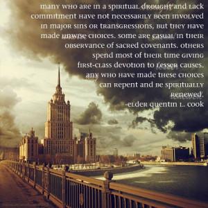 Spiritually Renewed -Elder Quentin L. Cook