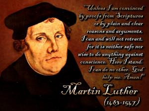 Christian Quote: Martin Luther Papel de Parede Imagem