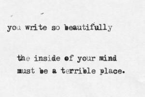 ... quote write poet writer Terrible writers songwriters beautiful words