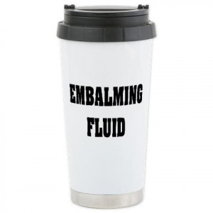 Funny Funeral Director or Mortician Travel Mug .http://www.cafepress ...