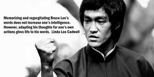 Bruce Lee's Words