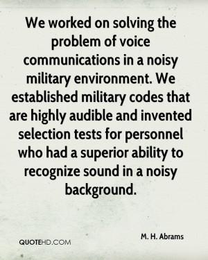Abrams Quotes