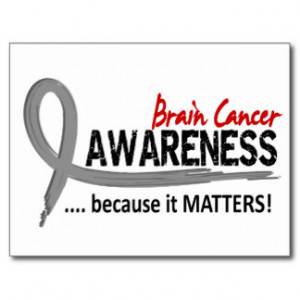 Brain Cancer Sayings Cards & More