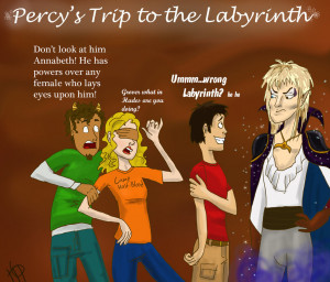 The Heroes of Olympus Percy in the Labyrinth
