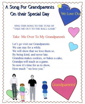 Top Grandparents Day Crafts And Poems: Take Me Over To My Grandparents ...