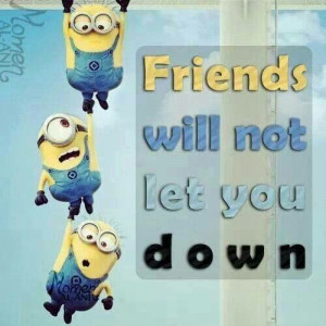 Minion friendship...