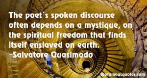 Favorite Salvatore Quasimodo Quotes