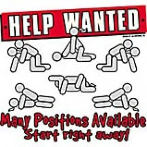Help Wanted Positions T Shirt