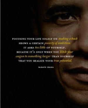 Wisdom from Barack Obama : Inspiring Quotes