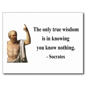 Socrates Quote 3b Post Cards