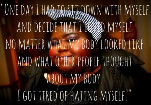 Body Image Inspiration (via @Sam Jones Post) #bodyimage