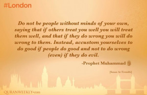 to do good if people do good & do not do wrong (even) if they do ...