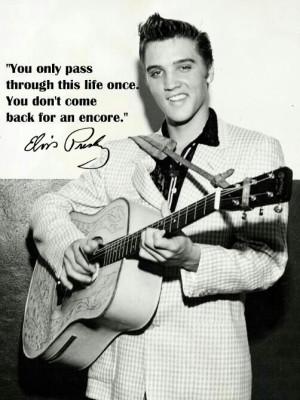 15 Great Elvis Presley Quotes