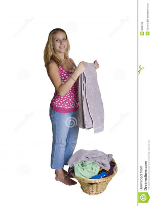 Royalty Free Stock Image Laundry Time
