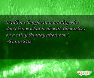 Rainy Sunday Quotes