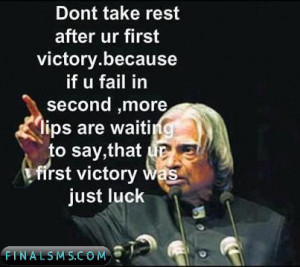 Quotes from APJ Abdul Kalam a collection