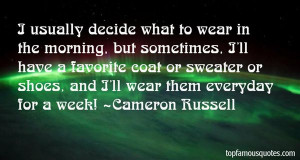 Cameron Russell Quotes Pictures