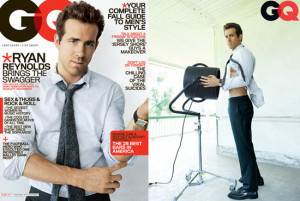 Ryan Reynolds Covers 'GQ'