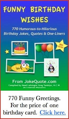 60th Birthday Humor:
