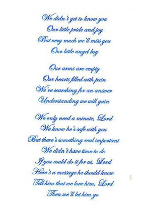 this is what i had for my son who was stillborn