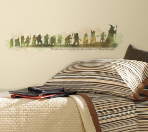 ... Kids Popular Characters The Hobbit The Hobbit Quote Wall Stickers