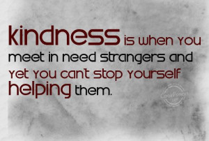 ... is being able to help even when you are down to nothing