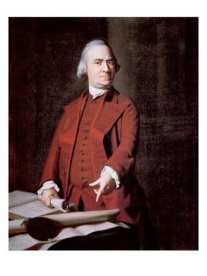 Samuel Adams of Massachusetts a signer of the Declaration of ...