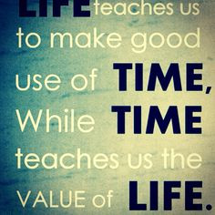 Time is a Valuable asset!!! Make