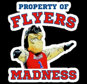 Dayton Flyers College Basketball Mascot T Shirt by xdurango