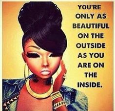Beauty is only skin deep #quotes #inspiration More