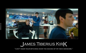 The New James Tiberius Kirk Chris Pine