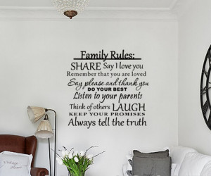 download this God Bless Our Family Love Wall Quotes Sayings Graphic ...