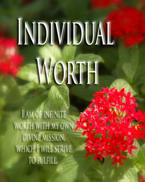 CLICK HERE to open Individual Worth Print