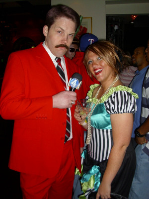... ron burgundy he paid great tribute to anchorman news team assemble