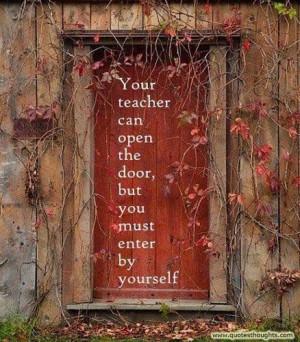 Nice educational quotes thoughts teacher door best great