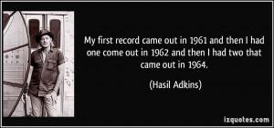 More Hasil Adkins Quotes