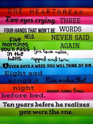 Heart break quotes, love, deep, sayings