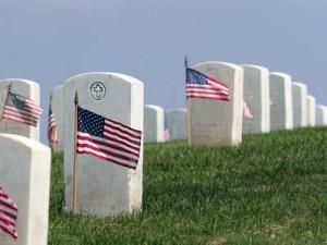 Military graveyard cemetary