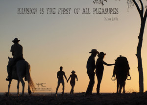 Cowboy Quote | Illusion | Rancho Chilamate